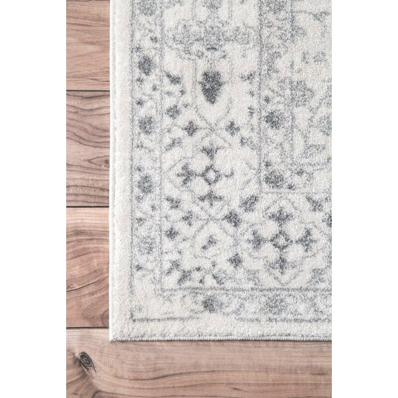 Youati Ivory Gray Area Rug Reviews Birch Lane