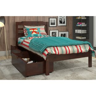 Brian Twin Slat Bed with Drawers