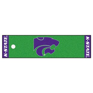 NCAA Synthetic Green Indoor Area Rug By FANMATS