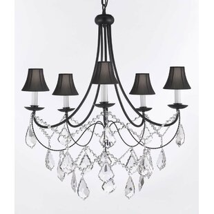 Versailles 5-Light Crystal Chandelier by ..