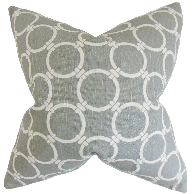 The Pillow Collection Betchet Geometric Bedding Sham Wayfair