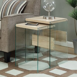 Calorafield 2 Piece Nesting Tables