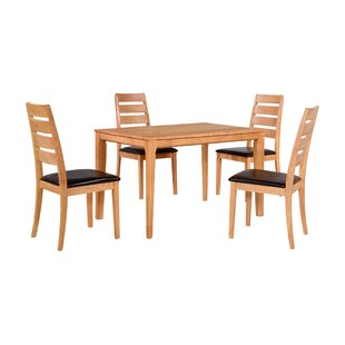 Dining Set With 4 Chairs By Home & Haus