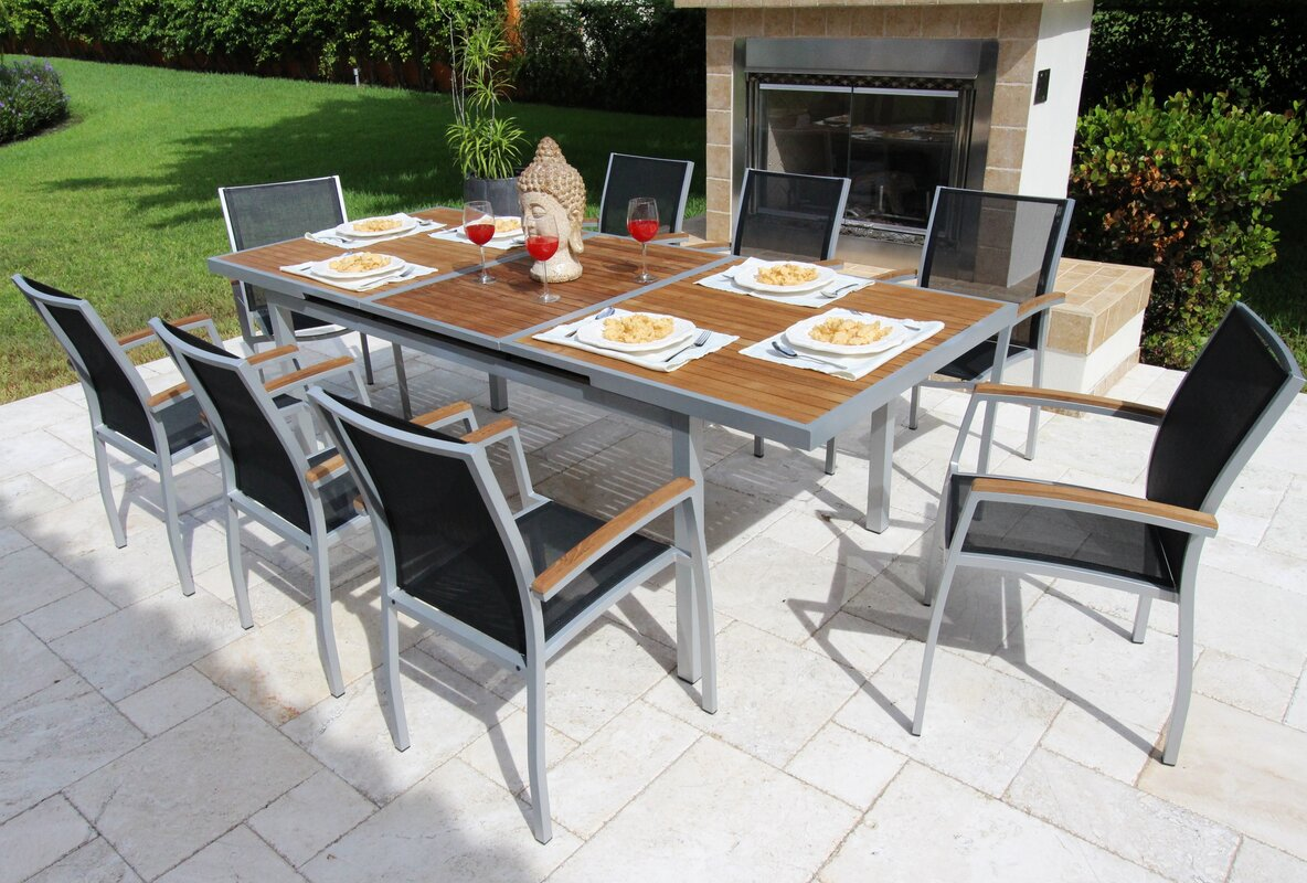 Galliano 9 Piece Dining Set