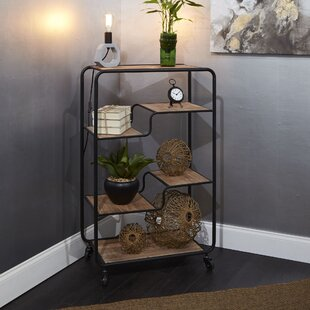 Kimbrough Multi-tiered Slim Standard Bookcase