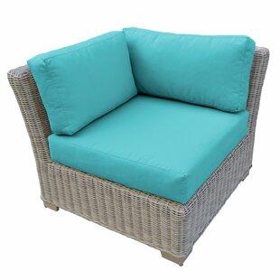 TK Classics Coast Corner Patio Chair with..