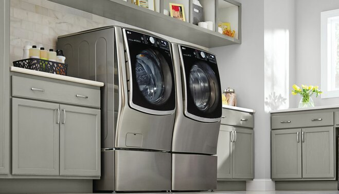 How to Maximize Space in the Laundry Room   Wayfair