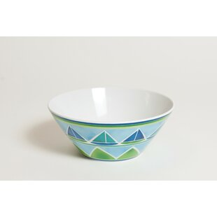 Sailin Melamine Soup/Cereal Bowl (Set Of 4) by Galleyware Company