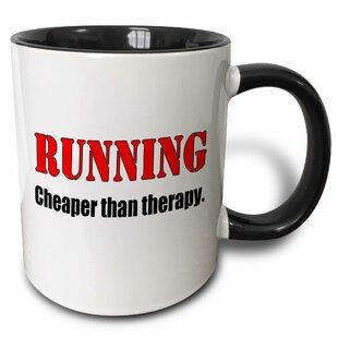 Wallasey Running Cheaper than Therapy Coffee Mug