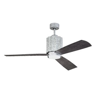 52 Monserrat 3 Blade Outdoor LED Ceiling Fan with Remote