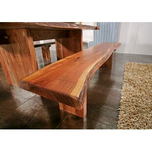 Freeform Wood Bench By Massivmoebel24