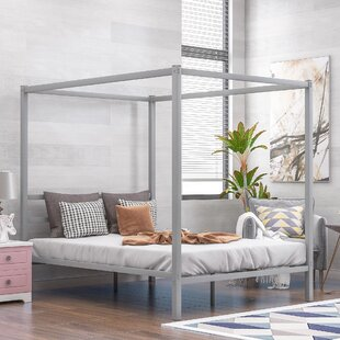 Aalana Queen Canopy Bed by Latitude Run