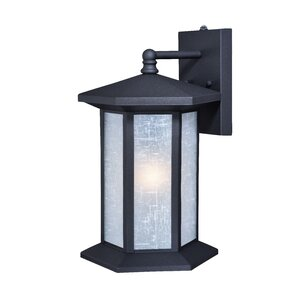 Alpha 1-Light Outdoor Wall Lantern