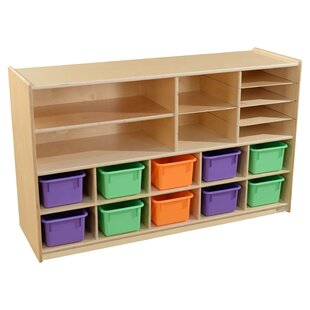 18 Compartment Cubby with Trays ByWood Designs
