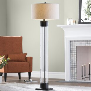 Cottage country floor lamps youll love wayfair fosse 64 floor lamp aloadofball Choice Image