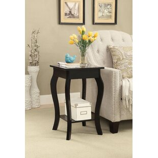 Robinswood Square End Table by Charlton Home
