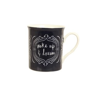 Patina Vie Wake Up and Dream Coffee Mug
