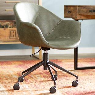 Read Reviews Normandy Desk Chair by Trent Austin Design