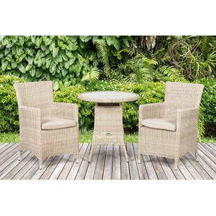 Swindon 2 Seater Bistro Set With Cushions Image