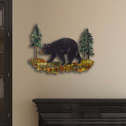 Next Innovations 3D Black Bear Wall Décor & Reviews | Wayfair