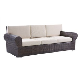 Brookhaven Patio Sofa with Cushions