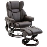 Corning 22 Manual Swivel Recliner with Ottoman by Red Barrel Studio®