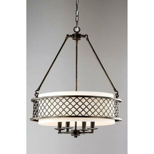 Montaillou 4-Light Drum Chandelier by Winston Porter