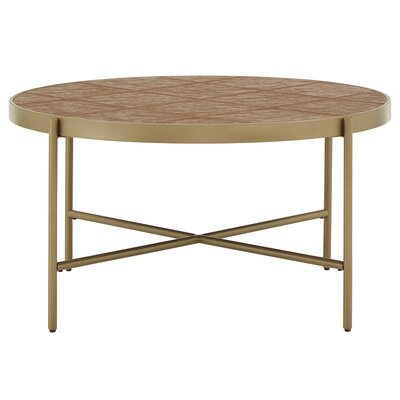 Round Upholstered Coffee Tables You Ll Love In 2019 Wayfair