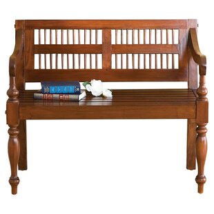 Three Posts Raposo Classic Wood Bench