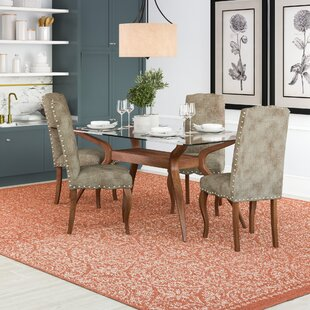 Conlan Dining Set With 4 Chairs By Ophelia & Co.