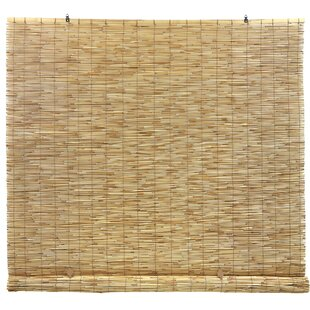 Reed Cord Free Semi-Sheer Roll-Up Shade by Symple Stuff