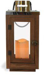 Price Check Metal/Wood Lantern By Union Rustic