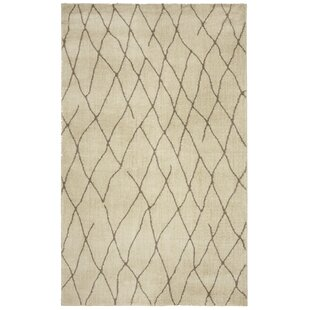 Gilson Ivory/Taupe Area Rug by Breakwater Bay