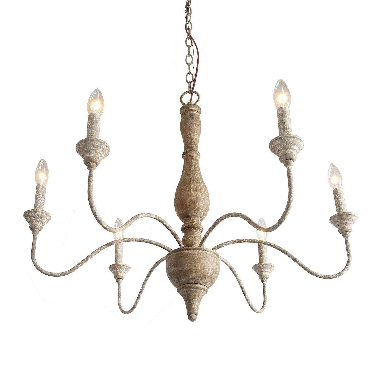 Ophelia Co Espinal 6 Light Candle Style Classic Chandelier Wayfair