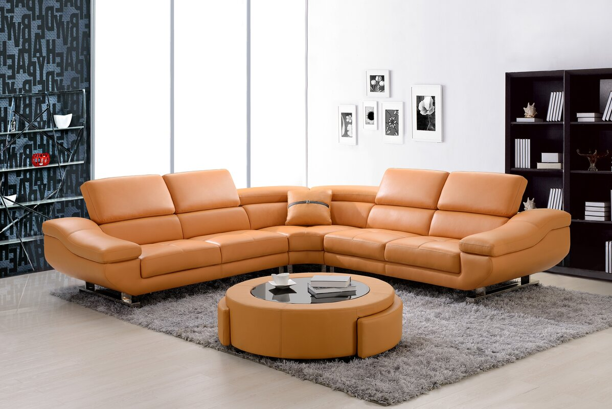 Best Quality Furniture Sectional Sofas You Ll Love Wayfair ~ Good Quality Sectional Sofa