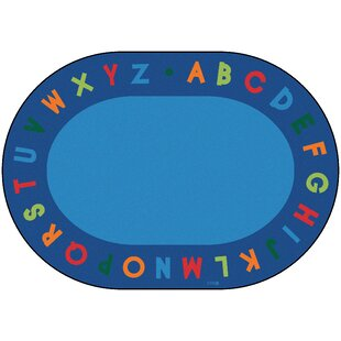 Bargain Emilion Alphabet Primary Area Rug By Zoomie Kids