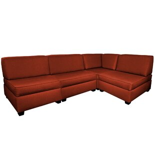 Grimmett Multi-Functional Reversible Modular Sectional with Ottoman