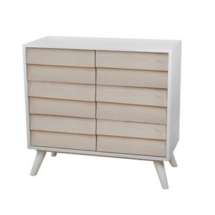 Keira Louvered 2 Door Accent Cabinet by Wrought Studio