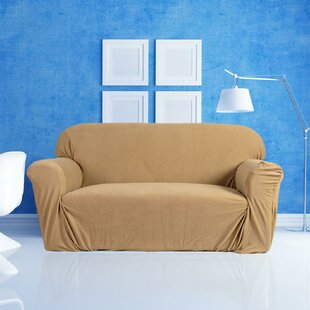 Compare & Buy Stretch 3-Seat Sofa Slipcover by Rebrilliant Reviews (2019) & Buyer's Guide