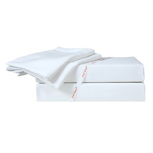 Online Reviews Hotel 300 Thread Count Solid 100% Cotton Sateen Sheet Set By Just Linen