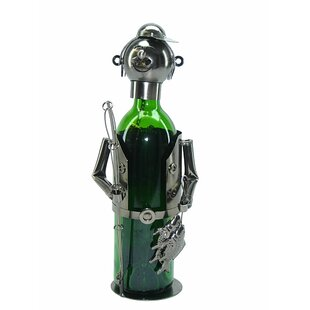 Fishing Fisherman 1 Bottle Tabletop Wine ..