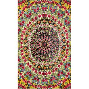 Read Reviews Newton Yellow Area Rug By World Menagerie