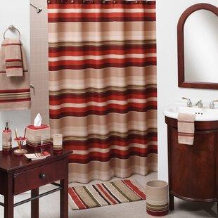 Great Price Madison Stripe Shower Curtain BySaturday Knight, LTD