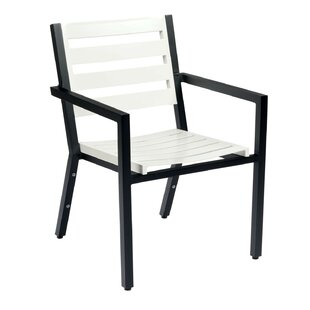 Palm Coast Slat Stacking Patio Dining Chair by Woodard Herry Up