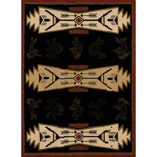 Deals China Garden Trade Winds Black/Beige Rug By United Weavers of America