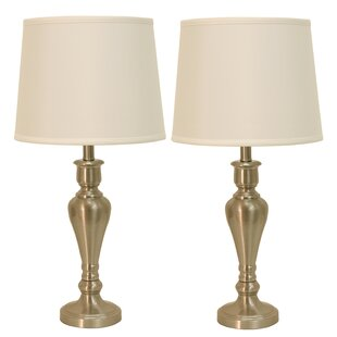 Marie Steel Touch Control 26 Table Lamp Set Of 2