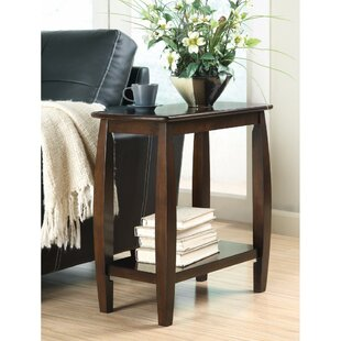 Peete Elegant Wooden End Table