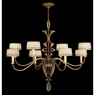Fine Art Lamps Staccato 8-Light Shaded Chandelier