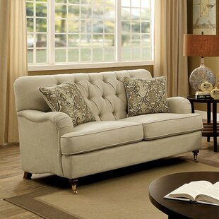 Robidoux Transitional Tufted Loveseat by Charlton Home
