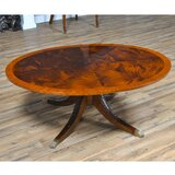 Sharonville Solid Wood Pedestal Coffee Table by Astoria Grand